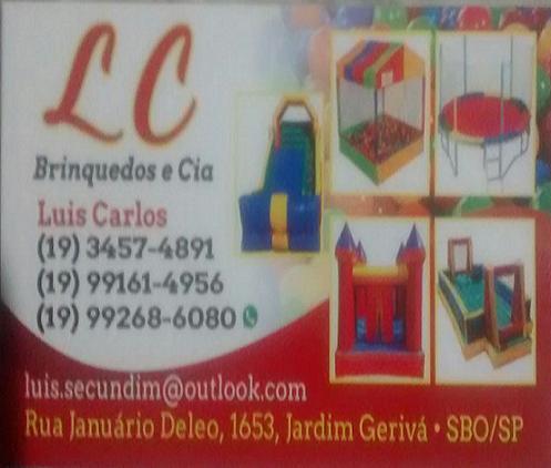 LC BRINQUEDOS E CIA em SANTA BARBARA D┤OESTE - Balao Pula Pula ... fe626a03b7b